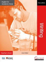 English for Academic Study (New Edition): Writing Teacher's Book ISBN: 9781908614407