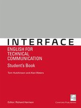 Interface - English for Technical Communication Student's Book ISBN: 9781910431061