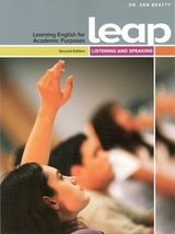 LEAP 3 High Intermediate - Learning English for Academic Purposes Listening & Speaking Student's Book with Audio CD ISBN: 9780133253955