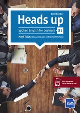 Heads Up Spoken English for Business (New Edition) B1 Coursebook with Audio ISBN: 9783125013162