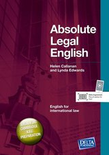 Absolute Legal English ISBN: 9783125013292