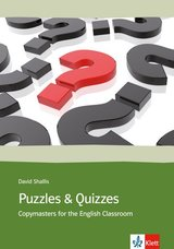 Puzzles and Quizzes; 39 Copymasters for the English Classroom ISBN: 9783125346062