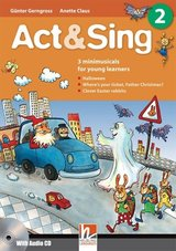 Act & Sing 2 with Audio CD ISBN: 9783852722290