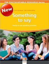 Something to Say ISBN: 9783852727806
