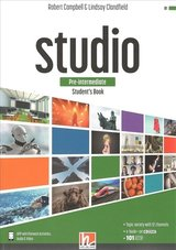 Studio (Combo - Split Edition) Pre-Intermediate A Student's Book / Workbook with e-Zone ISBN: 9783990459560