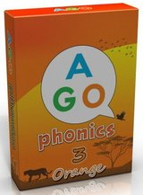 AGO Phonics Level 3 - Orange; A Fun EFL Card Game for Students Learning to Read ISBN: 9780994124173