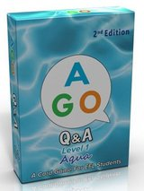AGO (2nd Edition) Level 1 - Aqua; A Question and Answer EFL Card Game ISBN: 9784865390384