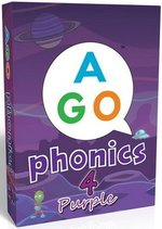 AGO Phonics Level 4 - Purple; A Fun EFL Card Game for Students Learning to Read ISBN: 9784865392104