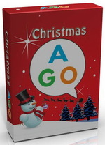AGO Christmas (Level 1 & 2) A Card Game for Learning English ISBN: 9784905299707