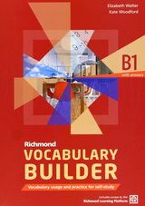 Richmond Vocabulary Builder B1 Student's Book with Answers and Internet Access Code ISBN: 9788466815277