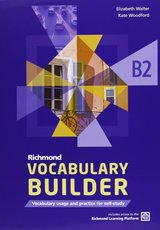 Richmond Vocabulary Builder B2 Student's Book without Answers with Internet Access Code ISBN: 9788466815444
