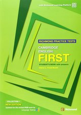 Richmond Practice Tests for Cambridge English: First (FCE) Student's Book with Answers ISBN: 9788466820257