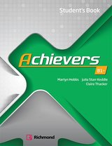 Achievers B1+ Student's Book ISBN: 9788466829137