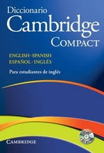 Diccionario Bilingue Cambridge Compact Spanish-English with CD-ROM ISBN: 9788483234754