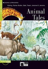BCRT2 Animal Tales Book with Audio CD