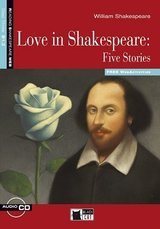 BCRT3 Love in Shakespeare Five Stories with CD-ROM ISBN: 9788853010971