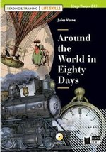 BCRT2 Around the World in 80 Days with Audio CD (Reading and Training - Life Skills) ISBN: 9788853016454