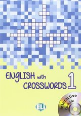 English with Crosswords Book 1 (Beginner) with Interactive CD-ROM ISBN: 9788853619099