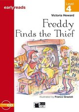 BCER4 Freddy Finds the Thief Book with Audio CD ISBN: 9788877546135