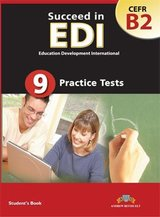 Succeed in EDI B2 (JETSET 5) Practice Tests Self-Study Edition (Student's Book, Self Study Guide & MP3 Audio CD) ISBN: 9781781641170