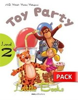 LB2 Toy Party with CD-ROM ISBN: 9789604783816