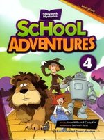 School Adventures 4; Bella and the Wonderful Wizard, Jack's Time Machine & Jack and Robin Hood with Audio CD ISBN: 9791156803157